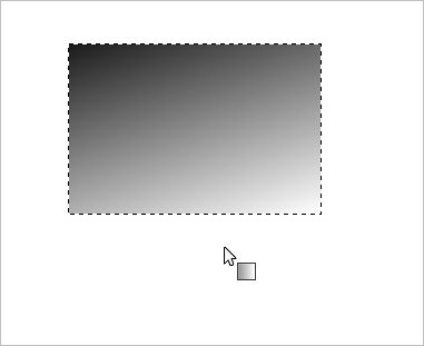 黒から白のグラデーション